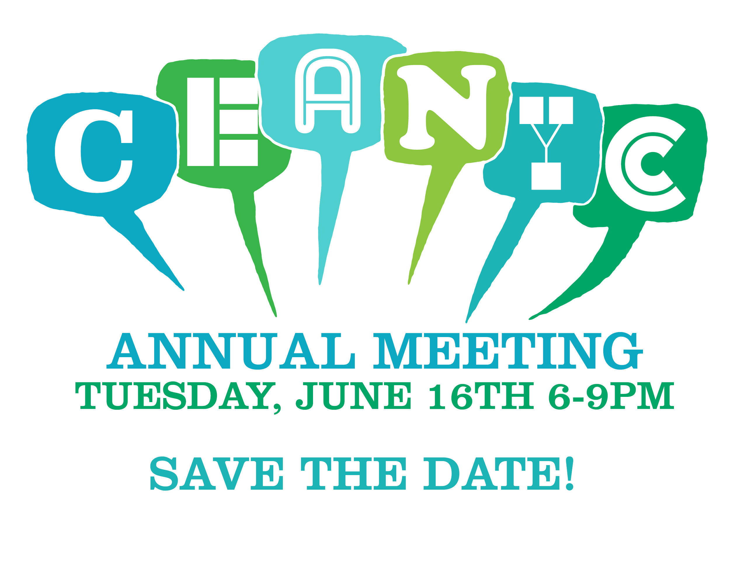 Save June 16, 2020, 6 PM for the CEANYC Annual Meeting